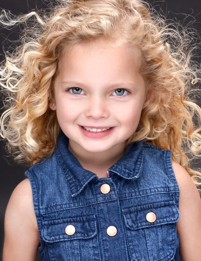 Child actor headshot copyright AmyJPhoto.com