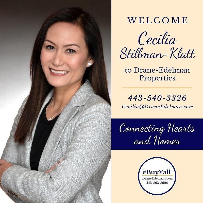 Realtor advertisement for Cecilia Stillman- Klatt.